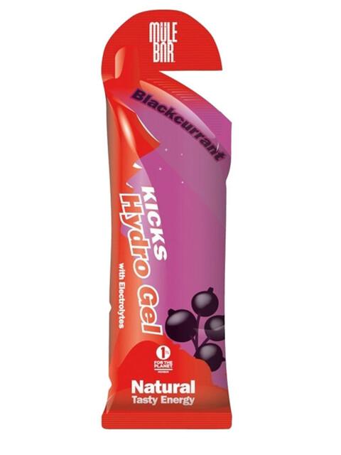 Mule Bar Kicks - Nutrición deportiva - Blackcurrant rojo/violeta